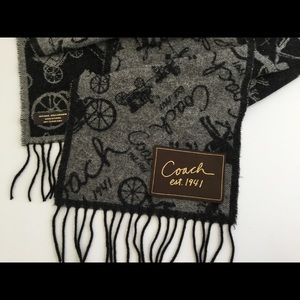 CIACH Cashmere Wool Carriage scarf women's